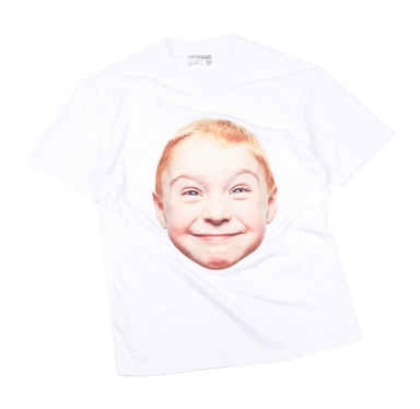 [18 HOUR] 40#SMILE BOY SHORT TEE