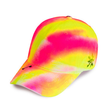 [BLACKBLOND] BBD SIDE LOGO LOLLIPOP CAP (PINK/NEON)