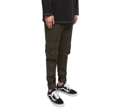 [CLACO] VELCRO MILITARY PANTS (KHAKI)