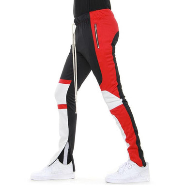 [EPTM] MOTOCROSS PANTS (BLACK/RED/OFF WHITE)
