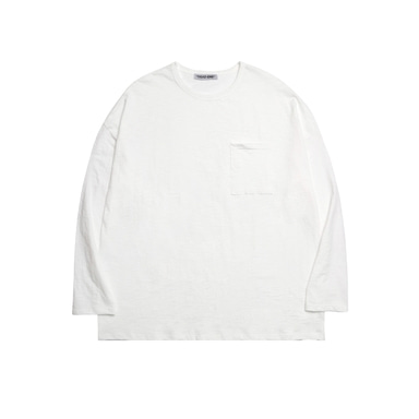 [DEADEND] IVORY POCKET LONG SLV