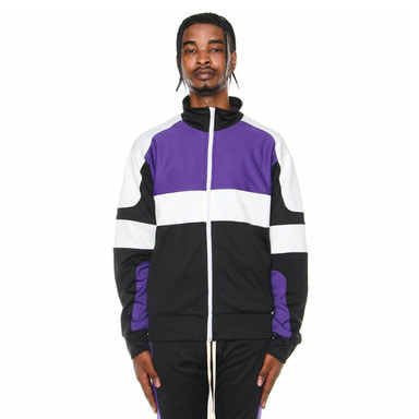 [EPTM] MOTOCROSS JACKET (BLACK/PURPLE/OFF WHITE)