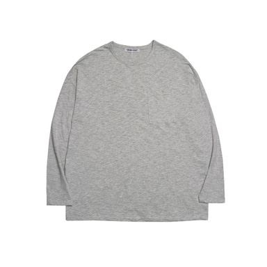 [DEADEND] GREY POCKET LONG SLV