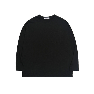 [DEADEND] BLACK POCKET LONG SLV