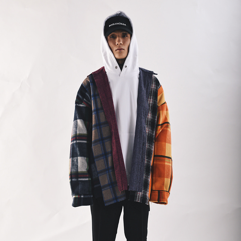 [COUPDEGRACE] 6 CUTS REBUILD FLANNEL SHIRTS (MULTI)