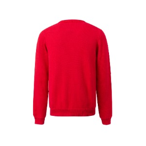 CREPPY SWEATER RED