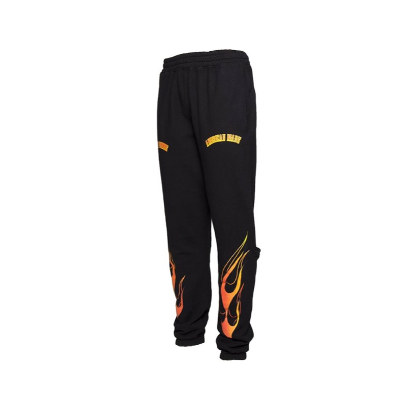 MOTORCYCLE SWEATS BLACK