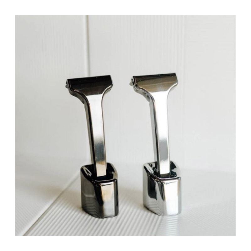 SINGLE EDGE RAZOR STAND MIRROR POLISH