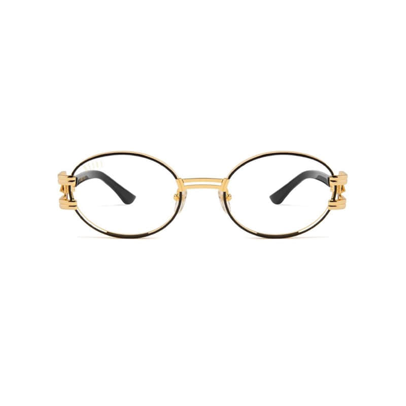 ST. JAMES BOLT BLACK/GOLD WITH CLEAR LENS