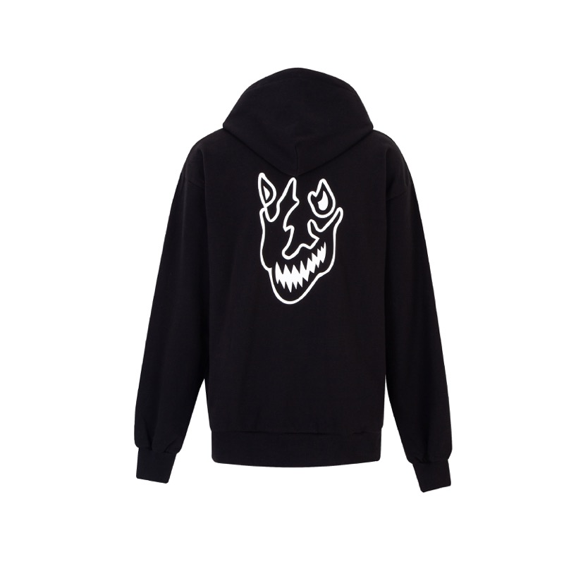 FLAME FACE HOODIE