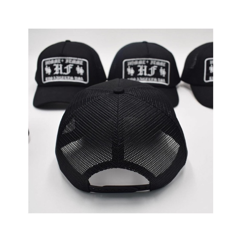 OLD ENGLISH LOGO HAT BLACK