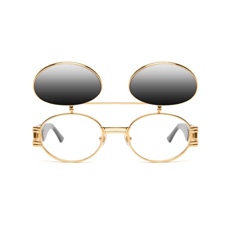 ST. JAMES BLACK/GOLD FLIP-UP WITH GRADIENT LENSES (LIMITED VERSION)