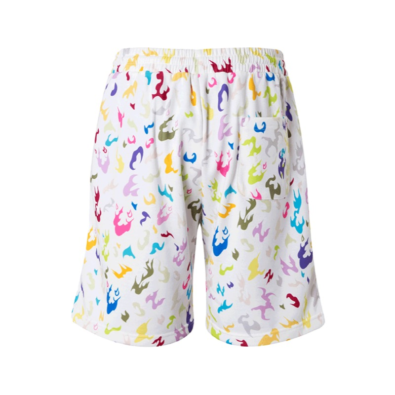 CAMO SHORTS MULTI WHITE