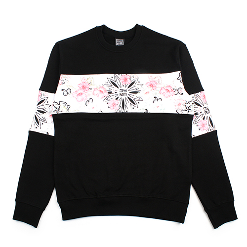 [NASTY PALM] NFP SWEATSHIRTS (BLACK)