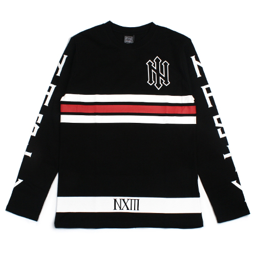 [NASTY PALM] N-SPEAR LONG SLEEVE (BLACK)
