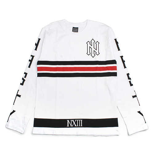 [NASTY PALM] N-SPEAR LONG SLEEVE (WHITE)